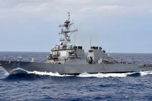 Chiến hạm Mỹ áp sát Hoàng Sa