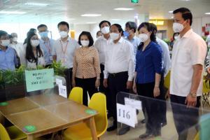 Bắc Ninh nhân rộng mô hình bố trí chỗ ăn, ở của công nhân tại nhà máy