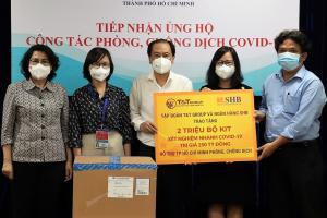 Doanh nghiệp chi 250 tỷ đồng mua kit xét nghiệm tặng TP HCM