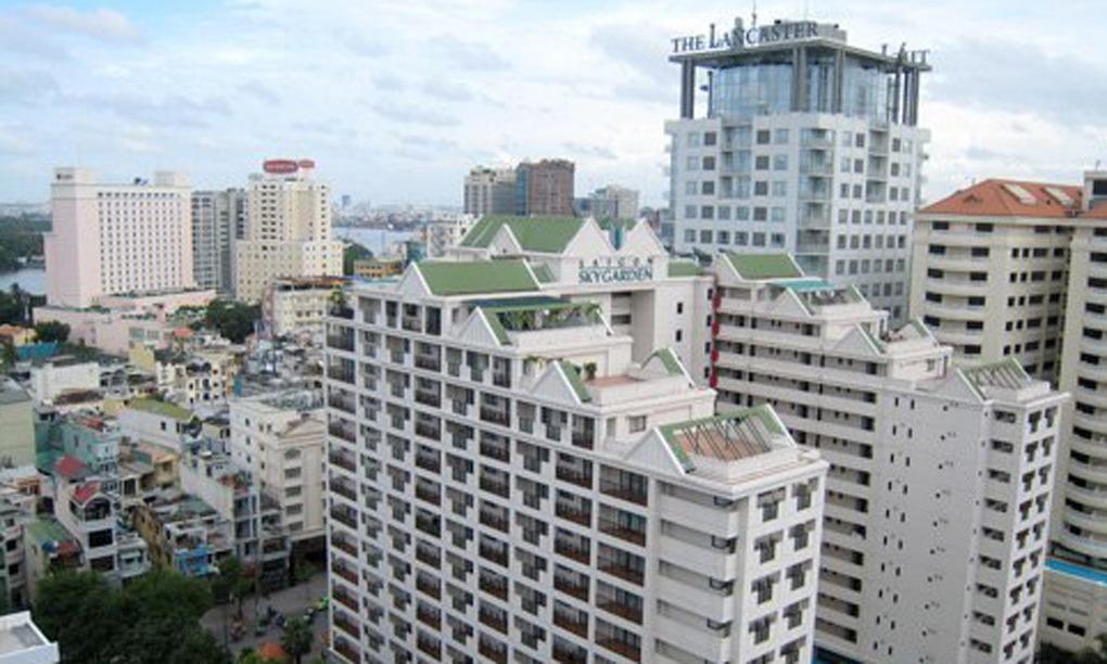 Giá thuê căn hộ dịch vụ lao dốc
