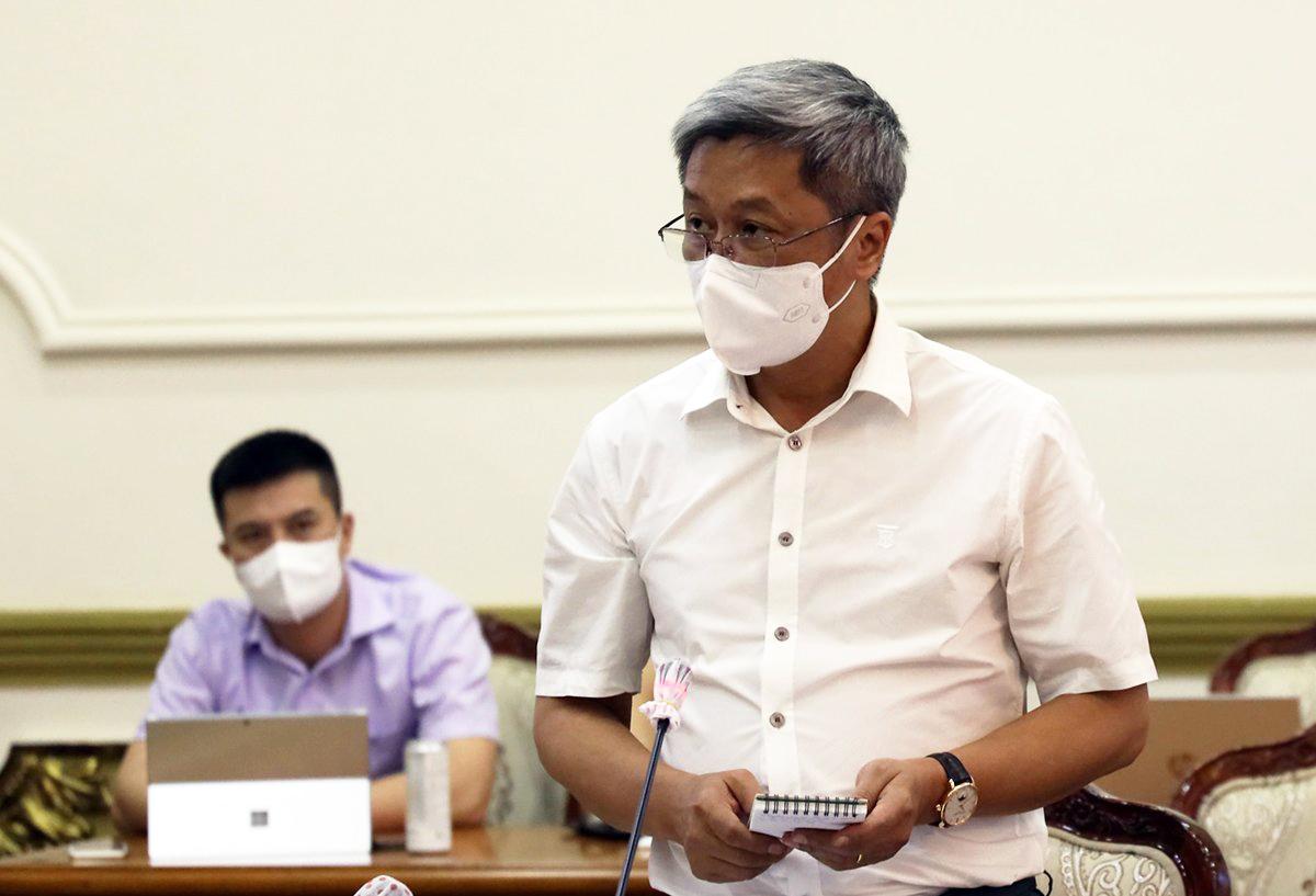 'Sẽ phân bổ gần một triệu liều vaccine cho TP HCM'