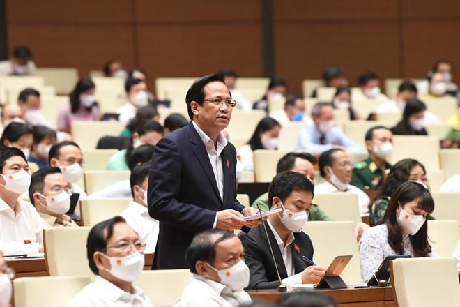 Bộ trưởng Đào Ngọc Dung báo cáo kết quả 15 ngày triển khai gói 26.000 tỷ