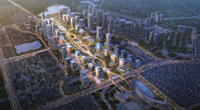 Công bố phương án chốt cho kiến trúc trụ sở 12 bộ ngành ở Tây Hồ Tây